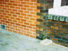 Bricks after